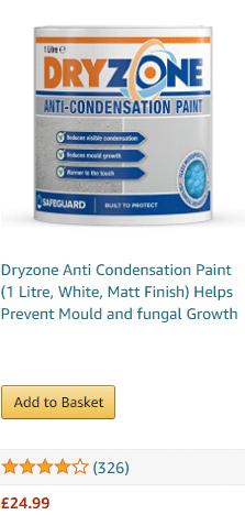dryzone anti-condensation paint