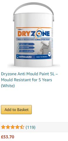 dryzone anti-mould paint